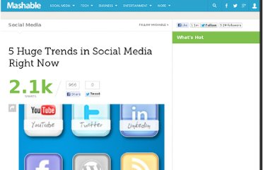 http://mashable.com/2010/08/20/top-5-social-media-trends/