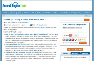 http://searchengineland.com/searchcap-the-day-in-search-february-26-2013-149805