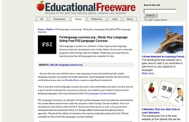 http://www.educational-freeware.com/online/fsi-languages.aspx