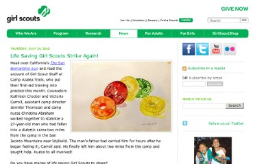 http://blog.girlscouts.org/2010/07/life-saving-girl-scouts-strike-again.html