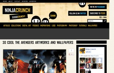 http://ninjacrunch.com/30-cool-the-avengers-artworks-and-wallpapers/
