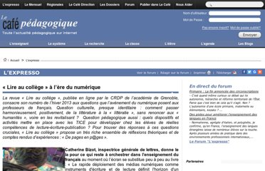 http://www.cafepedagogique.net/lexpresso/Pages/2013/02/28022013Article634976329593532023.aspx
