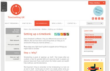 http://www.timebanking.org/?resource=setting-up-a-timebank