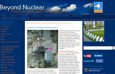 http://www.beyondnuclear.org/russia-ussr/2013/2/21/chernobyl-roof-collapse-worries-activists.html
