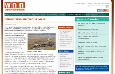 http://www.world-nuclear-news.org/ENF-Bumper_uranium_year_for_Areva-1802137.html