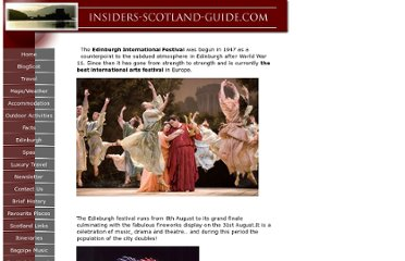 http://www.insiders-scotland-guide.com/EdinburghInternationalFestival.html