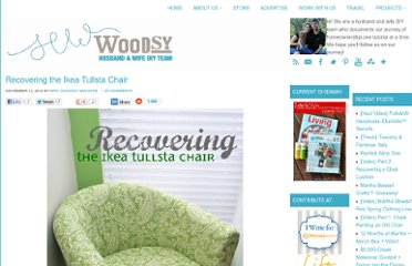 http://sewwoodsy.com/2012/11/recovering-the-ikea-tullsta-chair.html