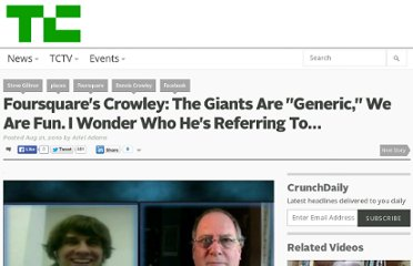 http://techcrunch.com/2010/08/21/foursquare-dennis-crowley-places-google-facebook/