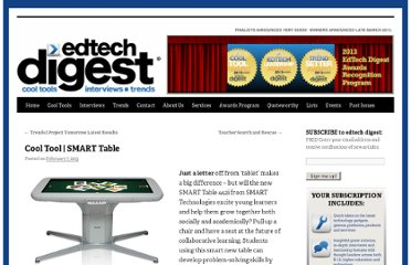 http://edtechdigest.wordpress.com/2013/02/07/cool-tool-smart-table/