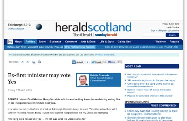 http://www.heraldscotland.com/politics/referendum-news/ex-first-minister-may-vote-yes.20368519