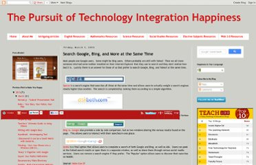 http://www.edutechintegration.net/2013/03/search-google-bing-and-more-at-same-time.html