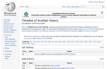 http://en.wikipedia.org/wiki/Timeline_of_Scottish_history