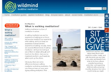 http://www.wildmind.org/walking/overview