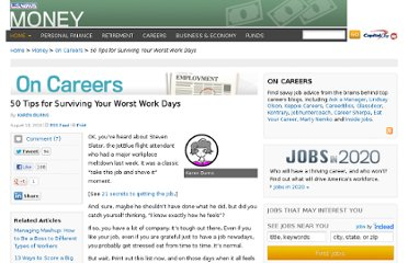 http://money.usnews.com/money/blogs/outside-voices-careers/2010/08/18/50-tips-for-handling-stress-at-work