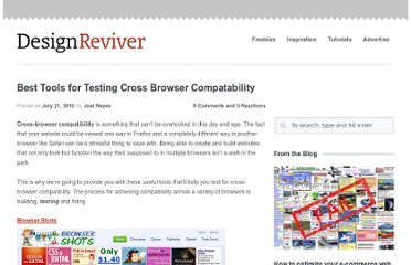 http://designreviver.com/articles/best-tools-for-testing-cross-browser-compatability/