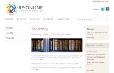 http://www.reonline.org.uk/knowing/