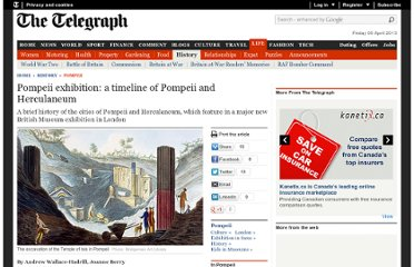 http://www.telegraph.co.uk/history/pompeii/9852299/Pompeii-exhibition-a-timeline-of-Pompeii-and-Herculaneum.html