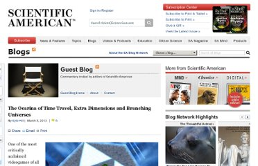 http://blogs.scientificamerican.com/guest-blog/2013/03/03/the-ocarina-of-time-travel-extra-dimensions-and-branching-universes/