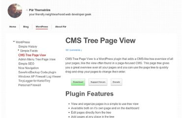 http://eskapism.se/wordpress/cms-tree-page-view/