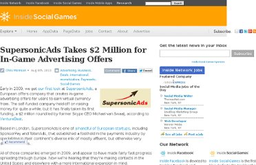 http://www.insidesocialgames.com/2010/08/09/supersonicads-2-million-fundin/