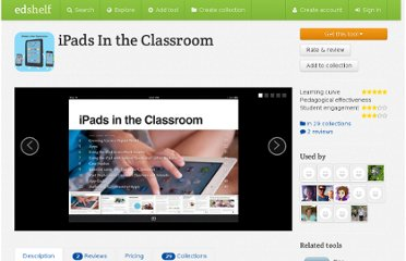 https://edshelf.com//tool/ipads-in-the-classroom
