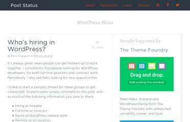 http://poststat.us/whos-hiring-in-wordpress/