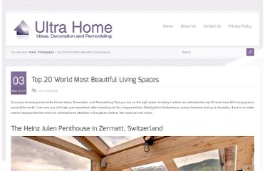 http://www.ultrahome.org/top-20-world-most-beautiful-living-spaces/