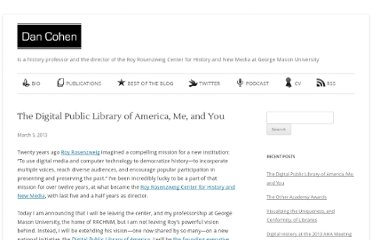 http://www.dancohen.org/2013/03/05/the-digital-public-library-of-america-me-and-you/