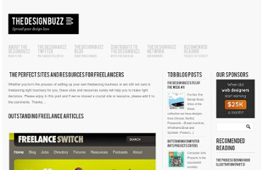 http://www.thedesignbuzz.net/the-perfect-sites-and-resources-for-freelancers/