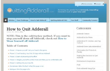 http://quittingadderall.com/how-to-quit-adderall/