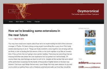 http://www.oxymoronical.com/blog/2010/03/How-were-breaking-some-extensions-in-the-near-future
