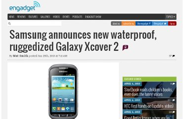 http://www.engadget.com/2013/01/25/samsung-waterproof-xcover-2-android-phone/