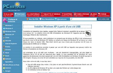 http://www.pcastuces.com/pratique/windows/windowsxp_usb/page1.htm