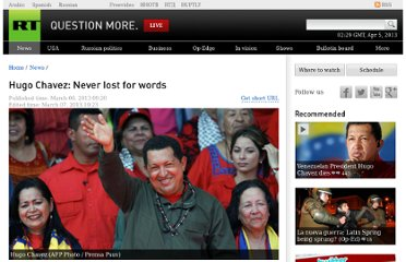 http://rt.com/news/chavez-iconic-memorable-quotes-885/