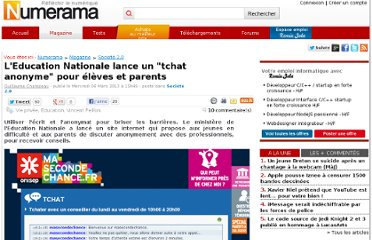 http://www.numerama.com/magazine/25302-l-education-nationale-lance-un-34tchat-anonyme34-pour-eleves-et-parents.html