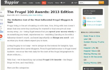 http://www.happier.co.uk/blog/the-frugal-100-awards-2013-edition-2741
