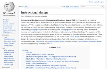http://en.wikipedia.org/wiki/Instructional_design