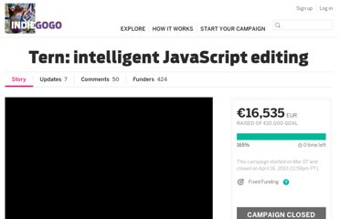http://www.indiegogo.com/projects/tern-intelligent-javascript-editing