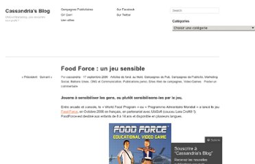 http://cassandria.wordpress.com/2009/09/17/food-force-jeu-sensible/