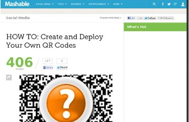 http://mashable.com/2010/08/23/how-to-create-qr-codes/