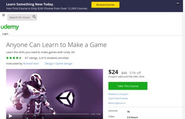 https://www.udemy.com/unity-tutorial/