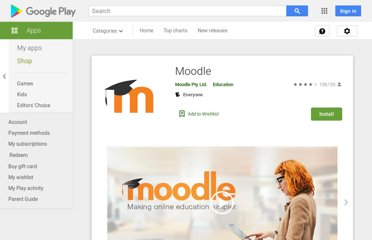https://play.google.com/store/apps/details?id=com.moodle.moodlemobile