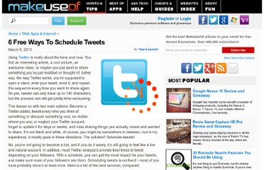 http://www.makeuseof.com/tag/6-free-ways-to-schedule-tweets/