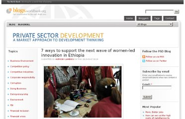 http://blogs.worldbank.org/psd/7-tips-to-support-the-next-wave-of-women-led-innovation-in-ethiopia