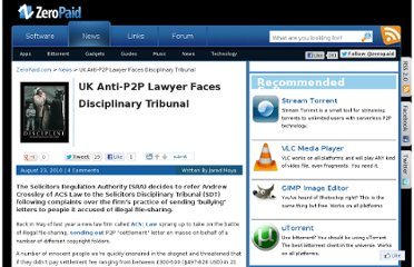 http://www.zeropaid.com/news/90357/uk-anti-p2p-lawyer-faces-disciplinary-tribunal/