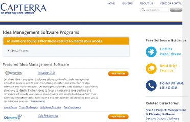 http://www.capterra.com/idea-management-software