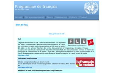 http://www.un.org/depts/OHRM/sds/lcp/French/fle.html