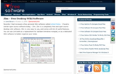 http://www.ilovefreesoftware.com/13/windows/zim-free-desktop-wiki-software.html