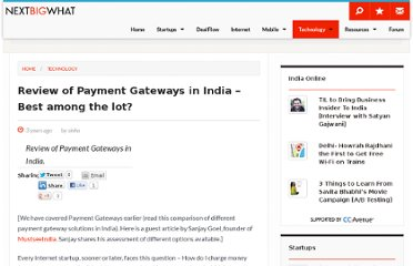 http://www.nextbigwhat.com/review-of-payment-gateways-in-india-297/