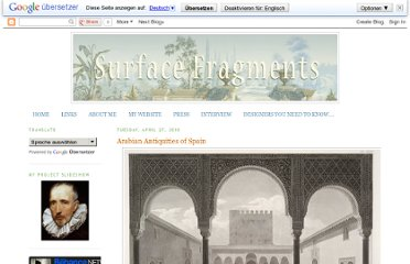 http://surfacefragments.blogspot.com/2010/04/arabian-antiquities-of-spain.html